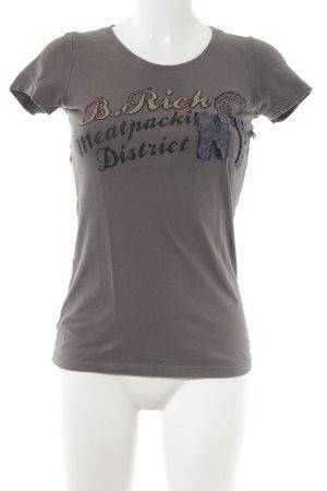 Better Rich T-Shirt dark grey casual look