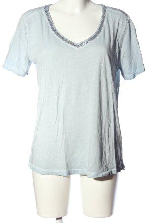 Better Rich V-Ausschnitt-Shirt blau Casual-Look