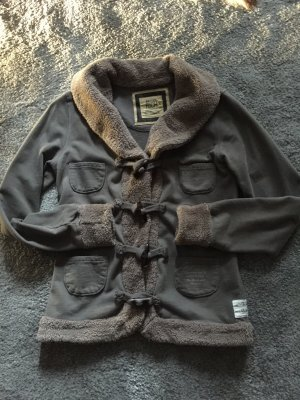 Better Rich Sweat Jacket taupe-grey brown