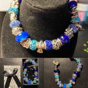 Charm Bracelet blue