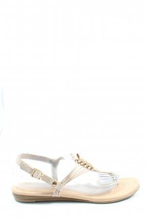 betts for her Flip-Flop Sandals natural white casual look