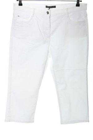 Betty Barclay Pantalon 3/4 blanc élégant