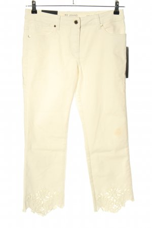 Betty Barclay Jeans a 7/8 bianco sporco stile casual