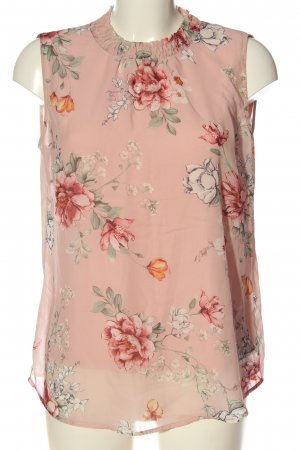 Betty Barclay ärmellose Bluse pink-blau Allover-Druck Elegant