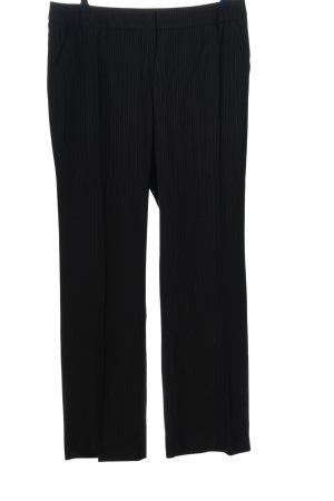 Betty Barclay Pantalon zwart-wit gestreept patroon casual uitstraling