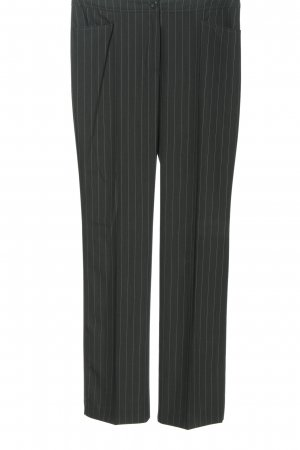 Betty Barclay Pantalon lichtgrijs gestreept patroon elegant