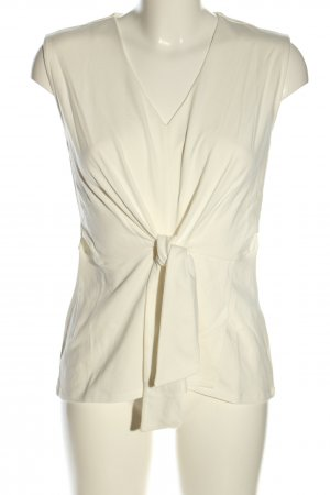 Betty Barclay Top basic bianco sporco stile casual