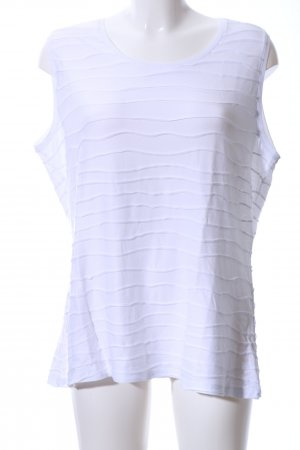 Betty Barclay Basic Top weiß Streifenmuster Casual-Look
