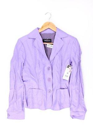 Betty Barclay Blazer violet-mauve-violet-violet foncé coton