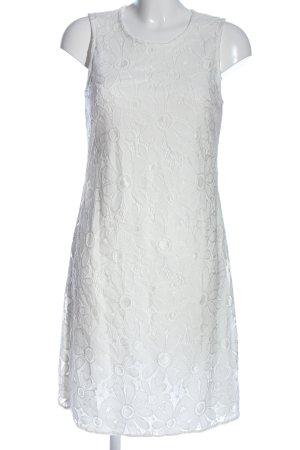Betty Barclay Robe crayon blanc style décontracté