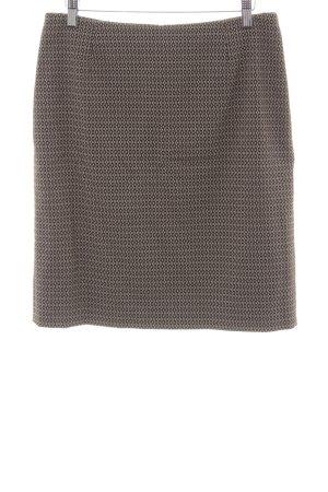 Betty Barclay Bleistiftrock schwarz-beige abstraktes Muster Business-Look