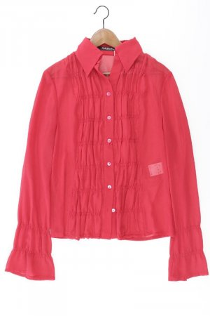 Betty Barclay Bluse Größe 40 Langarm rot aus Polyester