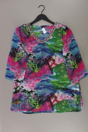 Betty Barclay Bluse Größe 42 neuwertig 3/4 Ärmel mit Pailletten lila aus Polyester
