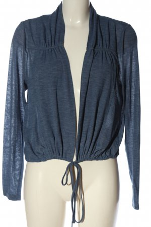 Betty Barclay Blusenjacke blau meliert Casual-Look