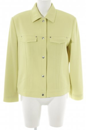 Betty Barclay Blusenjacke limettengelb Metallelemente