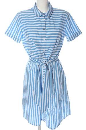Betty Barclay Abito blusa blu-bianco stampa integrale stile casual