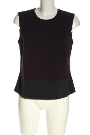 Betty Barclay Blouse topje zwart-bruin casual uitstraling