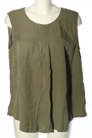 Betty Barclay Blouse topje khaki casual uitstraling