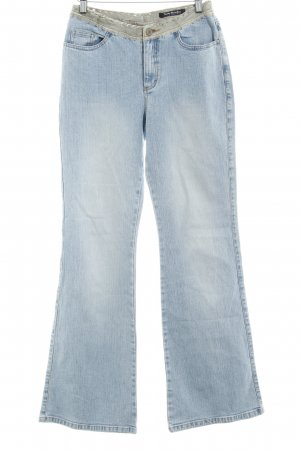 Betty Barclay Boot Cut Jeans himmelblau meliert Casual-Look