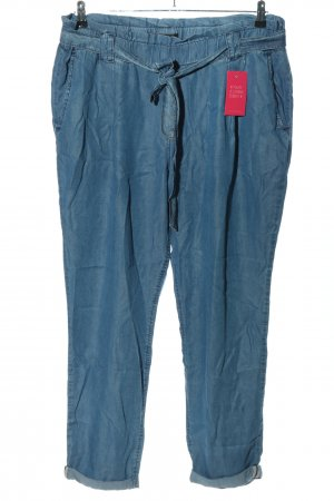 Betty Barclay Bundfaltenhose blau Casual-Look
