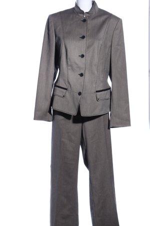 Betty Barclay Abito business grigio chiaro stile stravagante