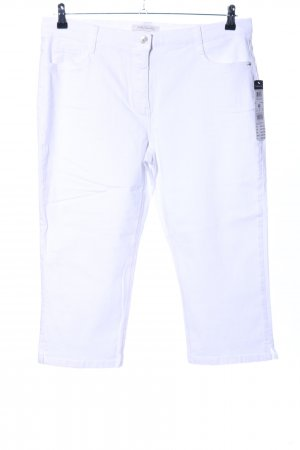 Betty Barclay Pantalon capri blanc style décontracté