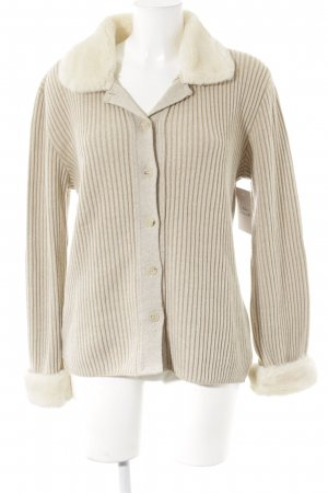 Betty Barclay Cardigan crème-beige tissu mixte