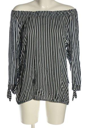 Betty Barclay Carmen Blouse black-white allover print casual look