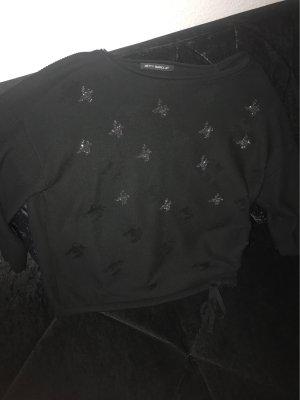 Betty Beclay Cienki sweter z dzianiny czarny