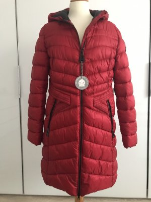 Betty Barclay Quilted Coat brick red polyamide