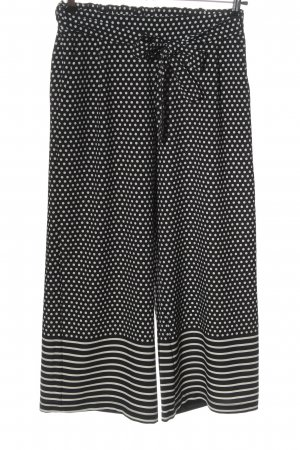 Betty Barclay Culottes black-white spot pattern casual look