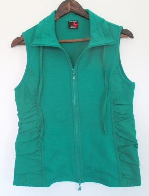 Betty Barclay Sports Vests green cotton