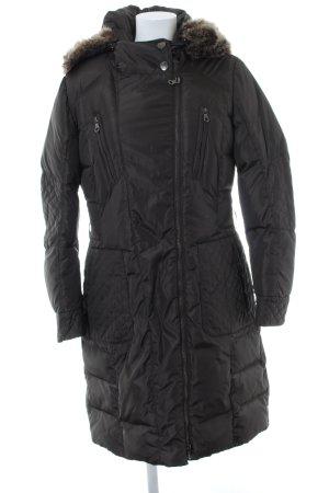 Betty Barclay Płaszcz puchowy ciemnoszary Pikowany wzór W stylu casual
