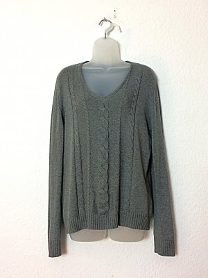 Betty Barclay Elements Pullover Gr. 42 grau