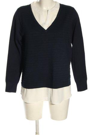 Betty Barclay Feinstrickpullover schwarz-weiß Casual-Look