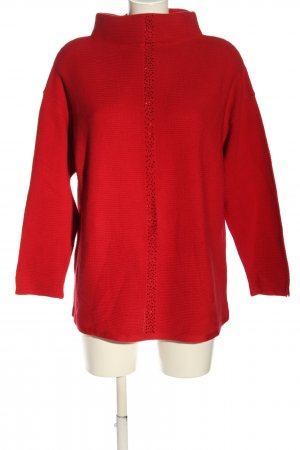 Betty Barclay Feinstrickpullover rot Casual-Look
