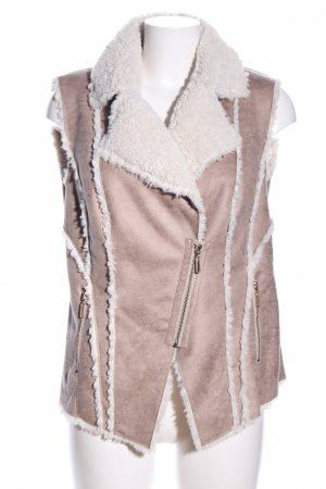 Betty Barclay Fur vest pink-natural white casual look