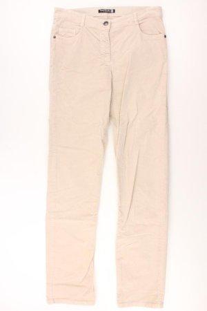 Betty Barclay Five-Pocket-Hose Größe 38 creme aus Baumwolle