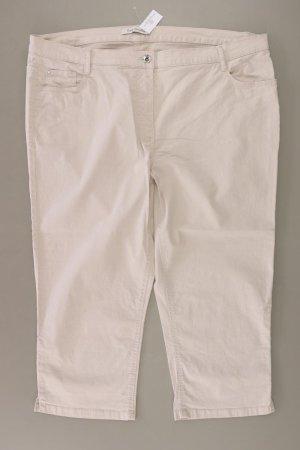 Betty Barclay Five-Pocket-Hose Größe 46 creme aus Baumwolle