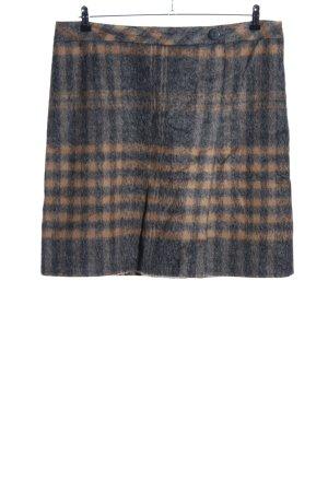 Betty Barclay Flared Skirt light grey-cream allover print casual look