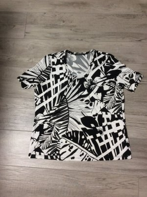 Betty Barclay Gr 46 schwarz weiß Shirt