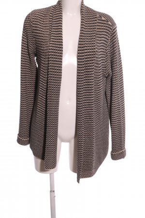 Betty Barclay Cardigan all'uncinetto nero-bianco sporco stampa integrale