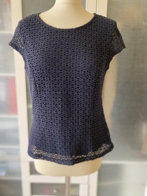 Betty Barclay Lace Top dark blue