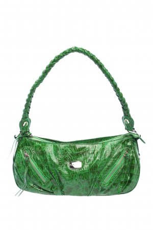 Betty Barclay Handtasche grün Animalmuster Casual-Look