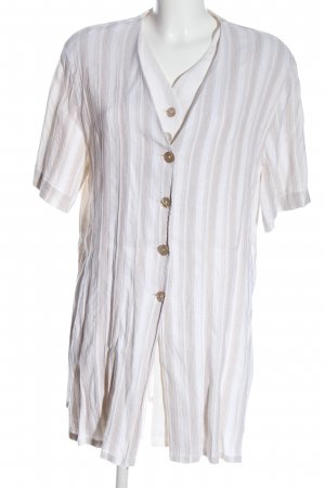 Betty Barclay Shirt Blouse white-natural white striped pattern casual look