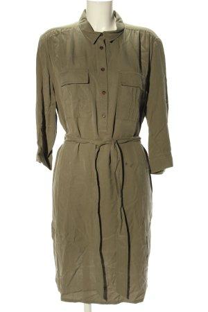 Betty Barclay Abito blusa camicia cachi stile casual
