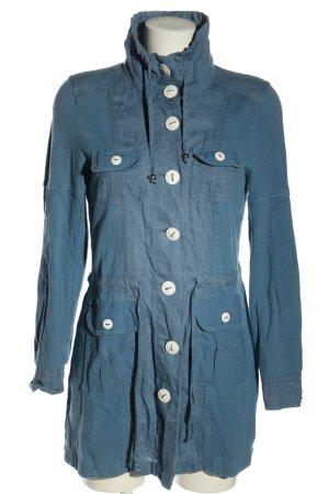 Betty Barclay Hemdblusenkleid blau Casual-Look