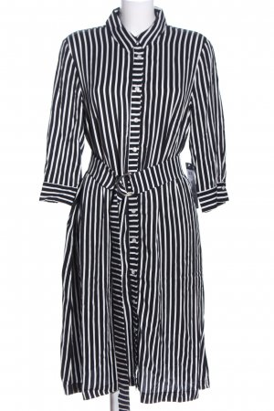 Betty Barclay Shirtwaist dress white-black striped pattern casual look