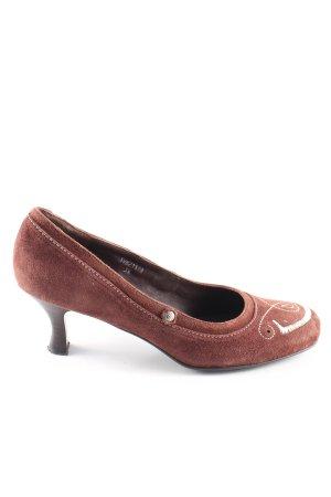 Betty Barclay High Heels bronzefarben Casual-Look