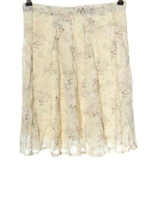 Betty Barclay High Waist Skirt cream-light grey abstract pattern casual look